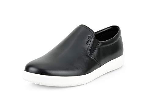 Prada Men's Calf Leather Slip-on, Black 4D2776 (11 US / 10 UK)