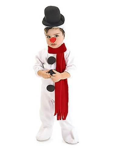 Snowman Costume - Infant (Baby Snowman Costume)