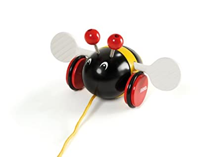 Brio Pull Along Bumble Bee Baby Toy by Brio