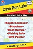 Cave Run Lake Fishing Map (Kentucky Fishing Series, L442)