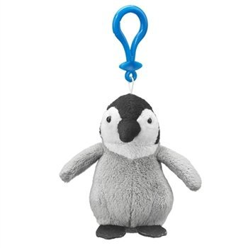 Emperor Penguin Chick Plush Penguin Stuffed Animal Backpack Clip Toy Keychain WildLife Hanger (Backpack Plush Aurora)