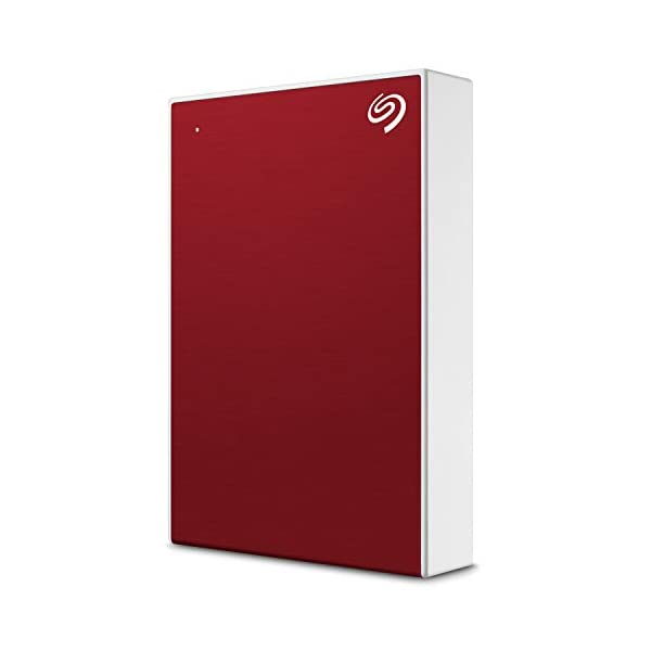 Seagate Backup Plus Portable 4TB External Hard Drive HDD – Red USB 3.0 for PC Laptop and Mac, 1 year MylioCreate, 2…