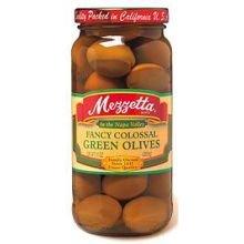 Mezzetta Fancy Colossal Green Olive, 10 Ounce - 6 per case. by Mezzetta