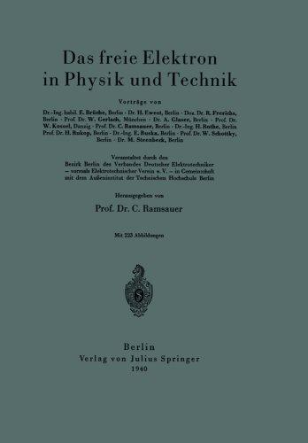 Das freie Elektron in Physik und Technik (German Edition)