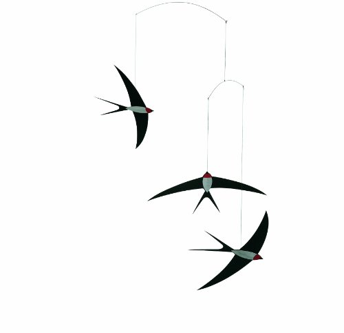Flensted Mobiles (Flynn Hempstead Mobile) Flynn Homestead Mobile Swallow Mobile FSM-13-013 (japan import)