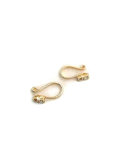 Buy Javali Jewels Double Stone Pressing Type Nose Ring At Amazon In