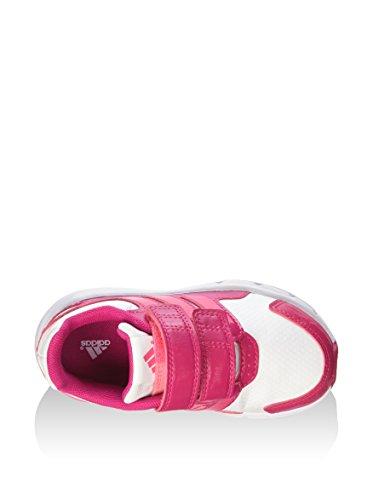 adidas LK Sport CF I - Zapatillas unisex, color blanco / rosa / fucsia
