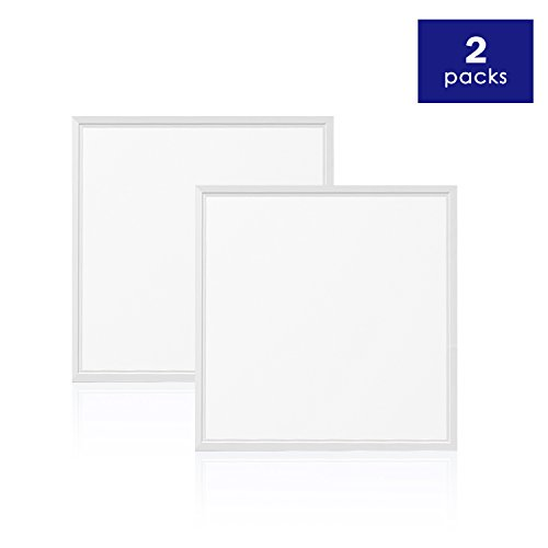 EVE UL LED Panel 2-PACK Light 2x2ft 40W 4000K 4800 lumens, DLC V4.2 Premium UL cUL Qualified and Lighting Facts, Eligible for Nationwide Rebate Programs Flat Celling Led Sheet Panels Lighting Board