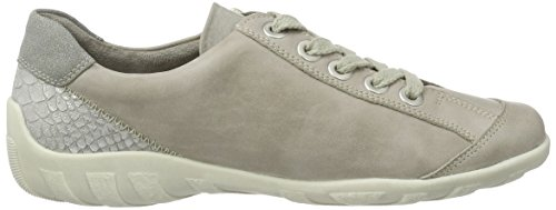 Remonte Damen R3419 Sneakers Grau (ice/shark/ice / 80)