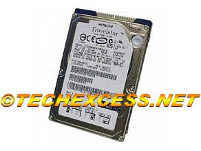 20 Gb Ide Hard Drive (IC25N020ATMR04-0 - Hitachi Travelstar 5K80 20GB 4200RPM IDE Laptop Hard Drive (Dell 1E321) 08K0851)