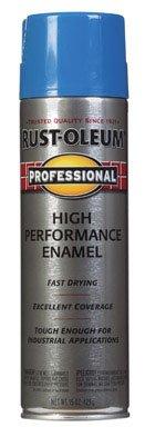 15 Oz Safety Blue Professional High Performance Enamel Spray 7524-838 [Set of 6]