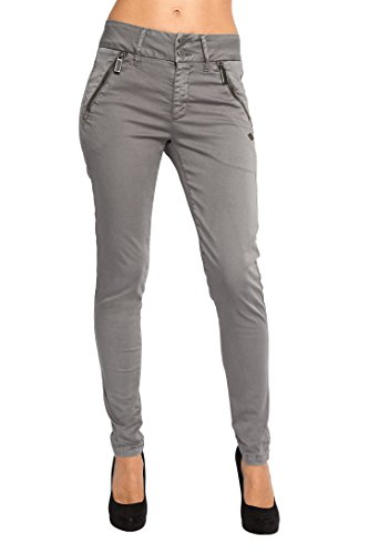 Femme Skinny Pantalon PARADISE IN LOST anthracite Gris PqS1a7