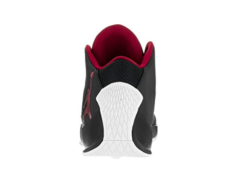 Red Shoes Basketball Jordan white Mens Gym NIKE High Black Rising 8CTqvwR
