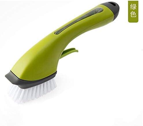 YZUEYT 自動投与ディスクブラシ洗浄スポンジは、キッチンクリーニングツールグレーの清掃インフレータブルボールシャンク YZUEYT (Color : Gray, Size : 30X9X10CM)
