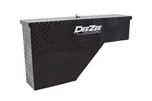Dee Zee DZ95B Gloss Black Wheel Well Tool Box (2013 Tacoma Toolbox)