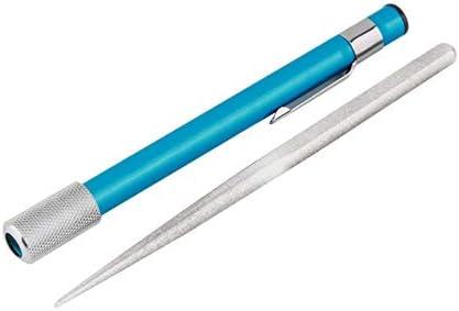 多目的研ぎ石ポータブル ペン型ダイヤモンドナイフ削りスティックナイフグリット研ぎ棒用屋外狩猟キッチンナイフ