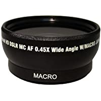 Wide Angle / Macro Lens for Pentax K-7 K-X Digital SLR cameras. This lens attaches directly to the following lens: 18-55mm, 75-300mm, 50mm 1.4 , 55-200mm
