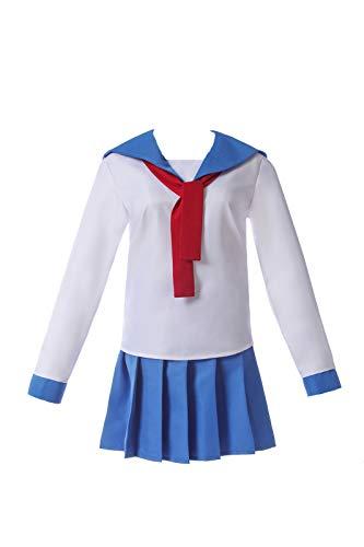 Women's Sailor Dress Poputepipikku Pop Team Epic Popuko Pipimi Nautical Anime Cosplay Costumes Japanese School Uniform Skirt -