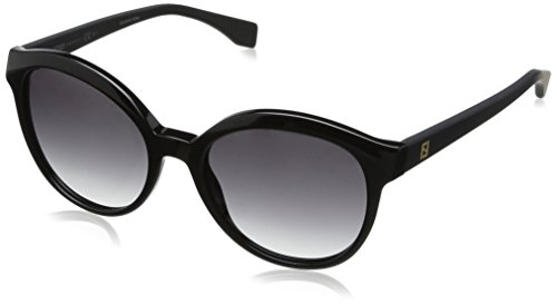 Fendi Women's Classic Colorblock Sunglasses, Black/Dark Grey Gradient, One - Fendi Black Sunglasses
