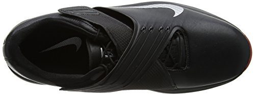 Pictures of NIKE Men's TW'17 Golf Shoes, Black/Metallic Silver-Anthracite, 9.5 M US 2