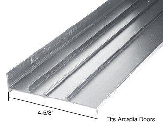 CRL Aluminum OEM Replacement Threshold for Acradia Door: 4-5/8'' Wide x 6 ft long