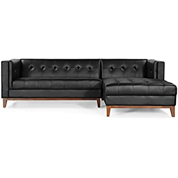 Amazon.com: kardiel Harrison moderno loft sofá Chaise ...
