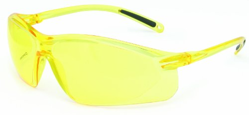 Honeywell A700 Series Lightweight Scratch-Resistant Tinted Safety Glasses, Amber Lens - Area For My Sunglasses Sale
