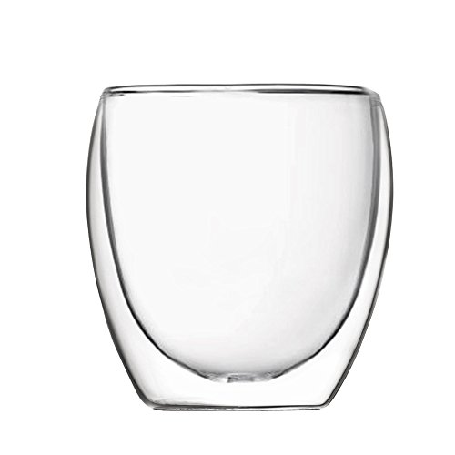 Volere Double Walled Glass 8-Ounce, Set of - Casual Gosling Ryan