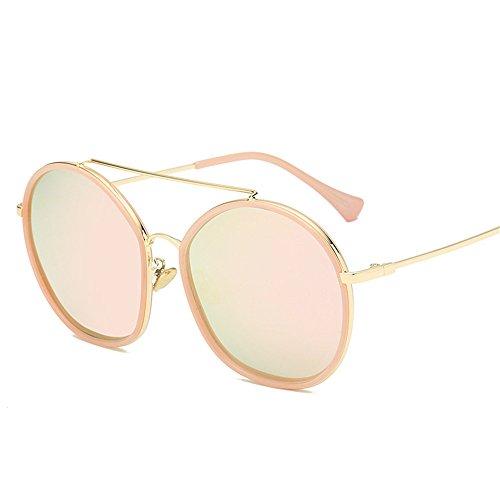 polarizadas caja sol de Gafas sol Polvo de Redondo polvo Nuevo gafas 2018 polarizadas de UV Bastidor Gafas Gafas gafas sol de sol q1Ew66