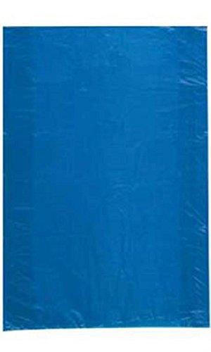 Jumbo High Density Blue Plastic Merchandise Bags - Case of 500 by STORE001