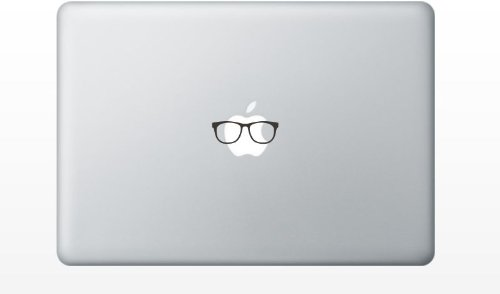 Glasses funny MacBook Decal sticker