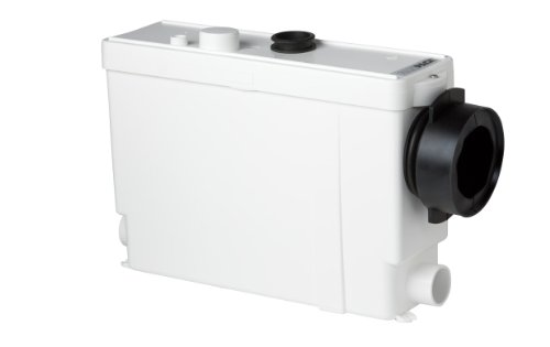 Saniflo 011 SANIPACK Macerating Pump for In Wall Frame System, White by Saniflo