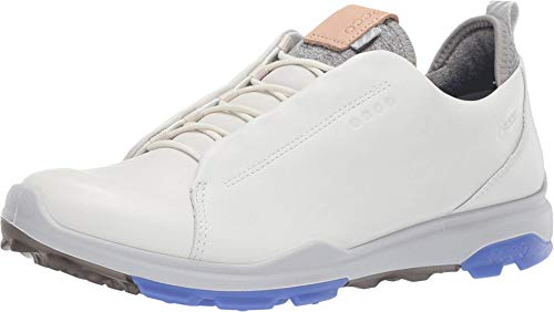 ECCO Women's Biom Hybrid 3 Gore-Tex Golf Shoe White Open lace 41 M EU (10-10.5 US)