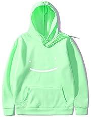 Dream Smile Merch Pullover Casual Cosplay Lange Mouw met zakken Sweatshirt voor mannen en vrouwen, Unisex Dreamwastaken Hoodie