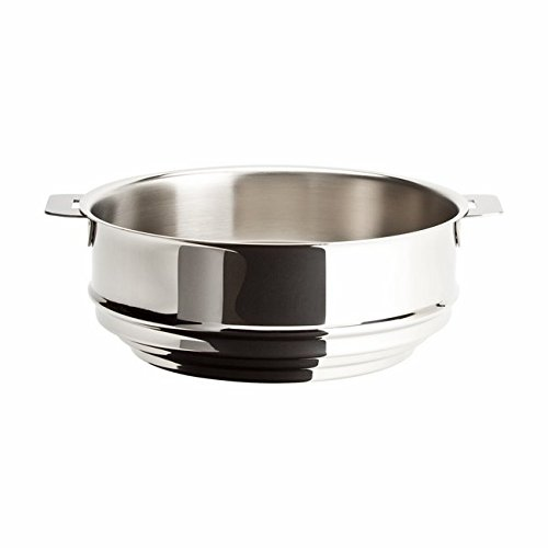 Cristel Multiply Stainless Steel 8 Inch Universal Steamer Insert by Cristel