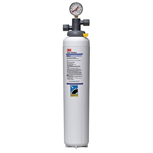 3M Water Filtration Products Filter System, Model ICE190-S, 54000 Gallon Capacity, 5 gpm Flow Rate, 0.2 Micron by 3M Water Filtration Products