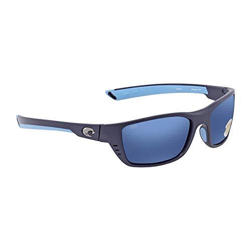 Costa Del Mar Whitetip 580P Whitetip, Matte Heron Blue Mirror, Blue ()
