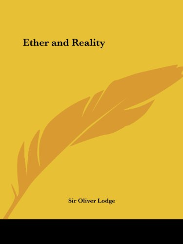 Ether and Reality