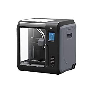 Monoprice Voxel 3D Printer – Black with Removable Heated Build Plate (150 x 150 x 150 mm) Fully Enclosed, Touch Screen, Assisted Level, Easy Wi-Fi, 8GB Internal Memory