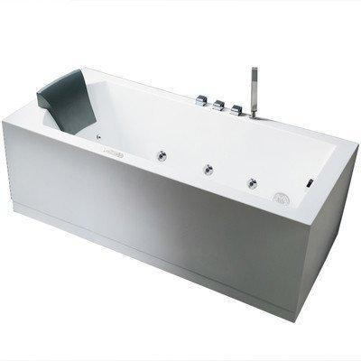 Platinum 59'' x 31.5'' Whirlpool Bathtub Configuration: Right by Ariel Bath
