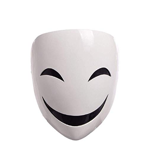 GK-O Anime Black Bullet Kagetane Hiruko Mask Cosplay Costume Prop Halloween mask