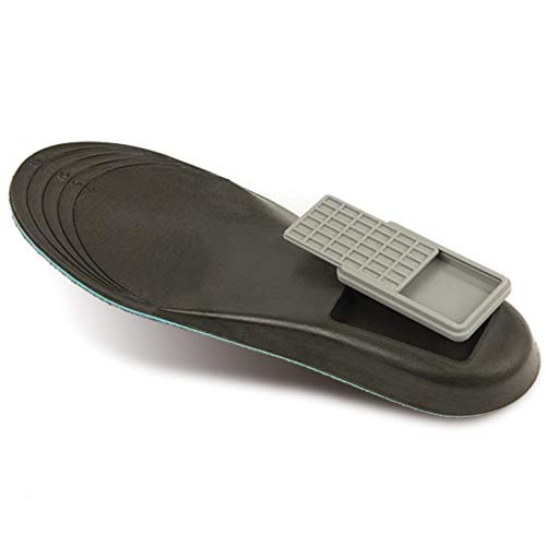 Storage Soles – A Unique and Discreet Way to Store Valuables -, Gray, Size 8.0