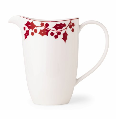 Lenox Holly Silhouette Pitcher