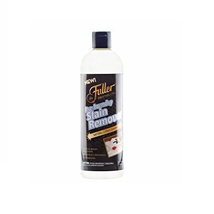 Laundry Ink Stain - Fuller Brush Pre-Laundry Stain Remover - Color Safe Pre Wash Fabric Treatment for Quick & Easy Dirt Spot Removal - Cleans Rust, Grease, Ink, Coffee & Oil On Clothes & Sheets