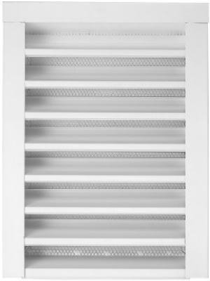 Construction Metals GLFF1424WH 14''x24'' WHTGable Louver by Construction Metals