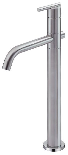 Danze D226058BN Parma Trim Line Single Handle Vessel Filler Lavatory Faucet, Brushed Nickel
