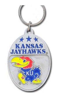 - College Team Logo Key Ring - Kansas Jayhawks