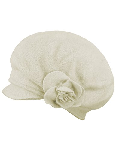 9903b850edf Jual Dahlia Women s Reversible Wool Beret Hat - Flower Accented ...
