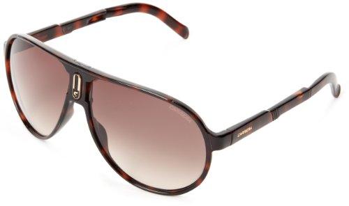 Carrera Champfolds Aviator Sunglasses,Shiny Tortoise,62 mm