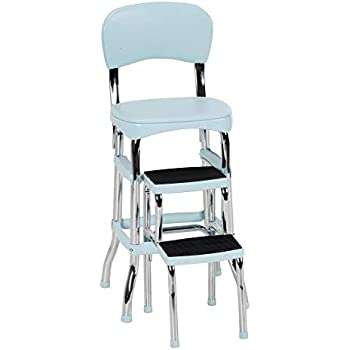 Prime Amazon Com Cosco 11 120Cby1 Retro Chair Step Stool Yellow Spiritservingveterans Wood Chair Design Ideas Spiritservingveteransorg